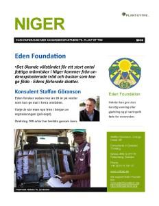 2016 Ingress SVENSK Eden Foundation - Edens förlorande skatter